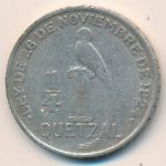 Гватемала, 1/4 кетсаля (1928–1929 г.)