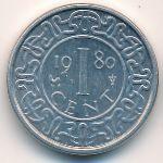 Суринам, 1 цент (1980 г.)