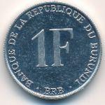 Бурунди, 1 франк (1990 г.)
