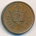 Барбадос, 1 цент (1985 г.)