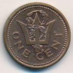 Барбадос, 1 цент (1995 г.)
