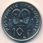 Французская Полинезия, 10 франков (1979 г.)