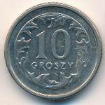 Польша, 10 грошей (1990 г.)