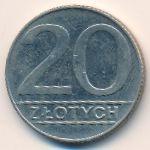 Польша, 20 злотых (1989 г.)