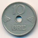 Норвегия, 10 эре (1924 г.)