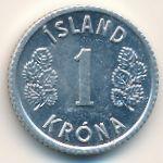Исландия, 1 крона (1976 г.)