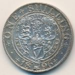 Великобритания, 1 шиллинг (1896 г.)