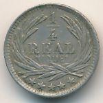 Гватемала, 1/4 реала (1901 г.)
