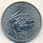 Конго, 100 франков (1982 г.)