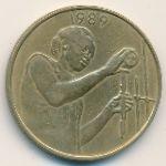 Западная Африка, 25 франков (1989 г.)