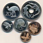 Папуа - Новая Гвинея, Набор монет (1975 г.)