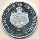 Монако, 100 франков (1974 г.)