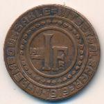 Гент, 1 франк (1915 г.)