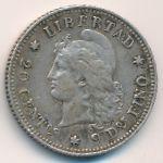 Аргентина, 20 сентаво (1883 г.)