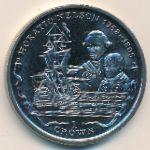 Фолклендские острова, 1 крона (2005 г.)