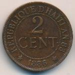 Гаити, 2 сентима (1886 г.)
