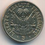 Гаити, 5 сентим (1958 г.)