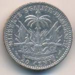 Гаити, 20 сентим (1881–1895 г.)
