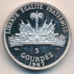 Гаити, 5 гурдов (1967 г.)