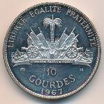 Гаити, 10 гурдов (1967 г.)