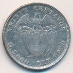 Колумбия, 20 сентаво (1941 г.)