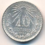 Мексика, 10 сентаво (1934 г.)