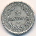 Коста-Рика, 10 сентимо (1910 г.)