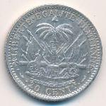 Гаити, 20 сентим (1895 г.)
