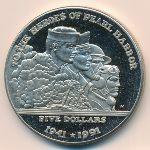 Маршалловы острова, 5 долларов (1991 г.)