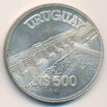 Уругвай, 500 новых песо (1983 г.)