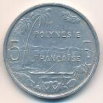 Французская Полинезия, 5 франков (1965 г.)