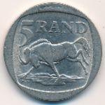ЮАР, 5 рэндов (1995 г.)