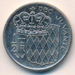 Монако, 1/2 франка (1982 г.)
