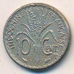 Французский Индокитай, 10 центов (1939–1940 г.)