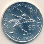 Токелау, 5 тала (1988 г.)