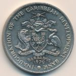 Барбадос, 4 доллара (1970 г.)