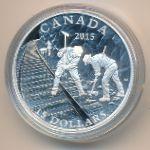 Канада, 15 долларов- (2015 г.)