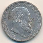 Вюртемберг, 3 марки (1914 г.)