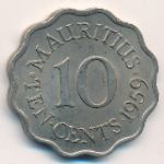 Маврикий, 10 центов (1959 г.)