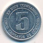 Никарагуа, 5 сентаво (1974 г.)