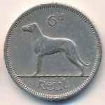 Ирландия, 6 пенсов (1963 г.)
