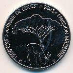 Мали, 1500 франков КФА (2003 г.)