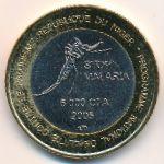 Нигер, 6000 франков КФА (2005 г.)