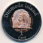 Острова Диомида, 1 цент (2015 г.)