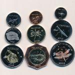 Остров Святого Евстафия, Набор монет (2013 г.)