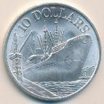 Сингапур, 10 долларов (1975 г.)