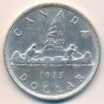 Канада, 1 доллар (1935 г.)