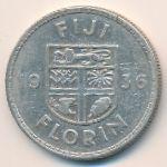 Фиджи, 1 флорин (1936 г.)