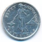 Филиппины, 50 сентаво (1921 г.)