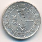 Гонконг, 10 центов (1904 г.)